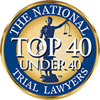 The National Top 40 under 40 trial lawyers Kelly Law Team