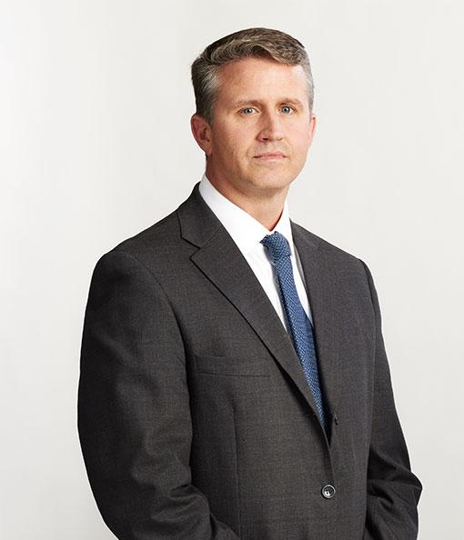 Litigation lawyer Vince Goddard